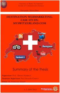 Destination webmarketing. Case study: MySwitz…